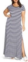 MICHAEL Michael Kors Stripe Maxi Dress