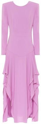 Stella McCartney Stretch-crepe midi dress