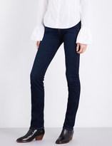 7 For All Mankind Kimmie slim-fit straight-leg stretch-denim jeans