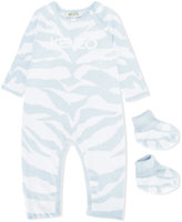 Kenzo babygrow with matching booties
