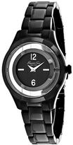Kenneth Cole Classic 10026948 Women's Round Black Stainless Steel Watch