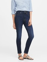 Banana Republic Petite High-Rise Slim Ankle Jean