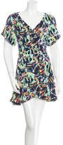 Kenzo Floral Print A-Line Dress