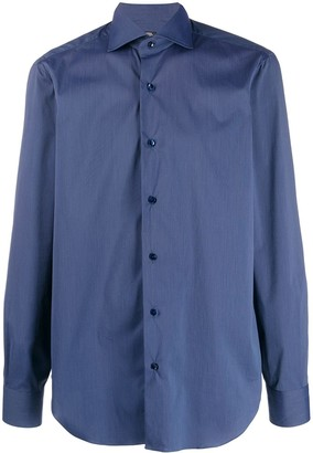 Barba Spread Collar Formal Shirt