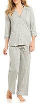 Lauren Ralph Lauren Petite Striped Jersey Pajamas