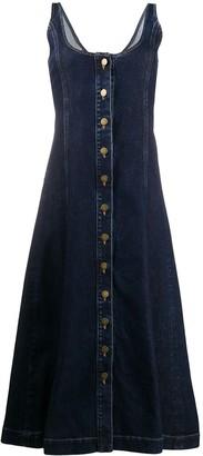 L'Autre Chose Denim A-Line Dress
