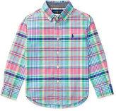 Ralph Lauren Madras Cotton Oxford Shirt