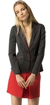 Tommy Hilfiger Wool Piped Blazer