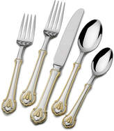 Mikasa Wallace® Napoleon Bee Gold Accent 45 Piece Flatware Set