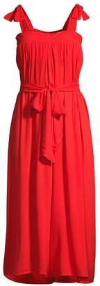 Cool Change Lydia Solid Tie Crop Wide-Leg Jumpsuit