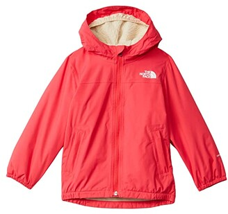 The North Face Kids Warm Storm Rain Jacket (Toddler) (Paradise Pink) Kid's Clothing