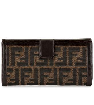 Fendi Pre-Owned Zucca pattern wallet