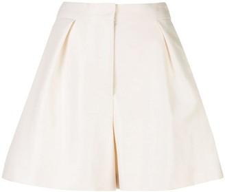 Carolina Herrera High-Waisted Wide Leg Shorts