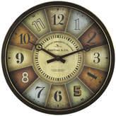 Asstd National Brand FirsTime Color Wheel Clock