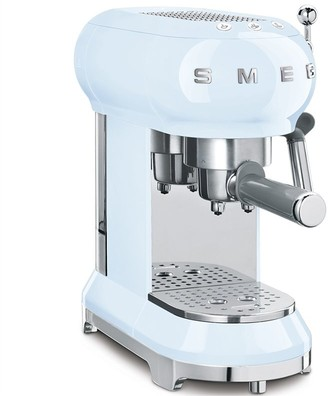 Smeg Espresso Machine - Pastel Blue
