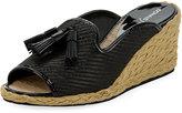 Donald J Pliner Charo Platform Slide Sandal, Black