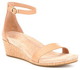 UGG Emilia Ankle-Strap Wedge Sandals