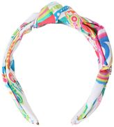 Roberto Cavalli Printed Cotton Poplin Headband