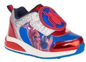 Spiderman Boy's Lighted Athletic Shoes
