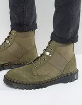 Dr Martens Beam Boots In Khaki