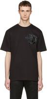 Markus Lupfer Black Sequin Tiger T-shirt