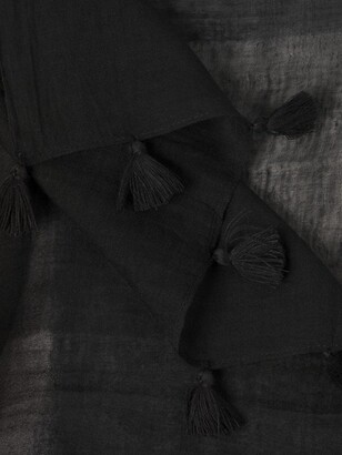 Eileen Fisher Sheer Grid Scarf