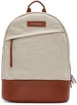 WANT Les Essentiels Ecru Canvas Kastrup Backpack