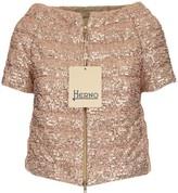 Herno Sequin Short Sleeve Padded Jacket