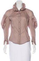 Vivienne Westwood Draped Button-Up Top