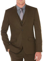 Perry Ellis Slim-Fit Sateen Two-Button Jacket