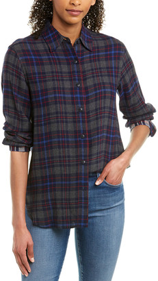 Rag & Bone Billie Wool-Blend Shirt
