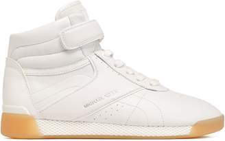 MICHAEL Michael Kors Addie Leather High-top Sneakers