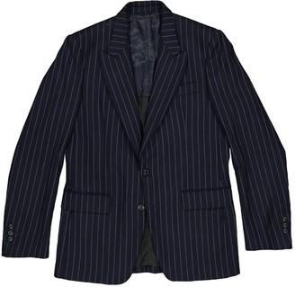 Maison Margiela Navy Wool Jackets