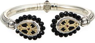 Konstantino Hestia Black Onyx Hinged Bracelet
