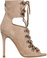 KENDALL + KYLIE 100mm Suede Lace-Up Ankle Boots