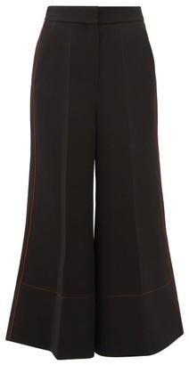 Roksanda Hasani Cady Wide-leg Trousers - Black