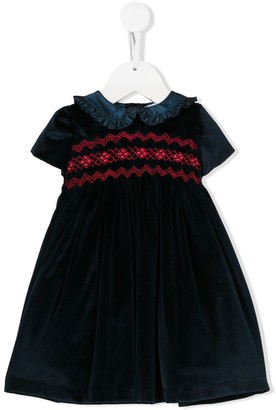 Siola Embroidered Detail Dress