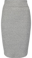 Enza Costa Ribbed Stretch-Jersey Skirt