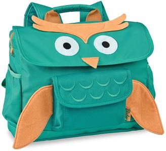 "Bixbee 10"" Kid' Owl Backpack - Aqua"
