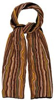 M Missoni Chevron Open Knit Scarf