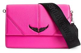 Zadig & Voltaire Lolita Leather Crossbody Bag