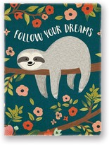 Studio Oh Follow Your Dreams Sloth Deconstructed Journal