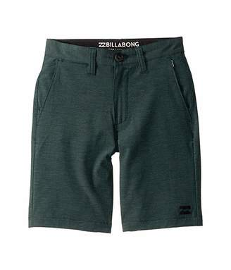 Billabong Kids Crossfire X Walkshorts (Big Kids) (Emerald) Boy's Shorts