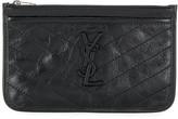 Saint Laurent Niki crinkled coin purse