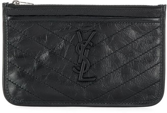 Saint Laurent Niki crinkled coin purse