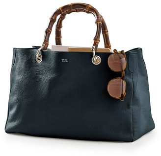 Mark And Graham Bamboo Elisabetta Slouch Handbag