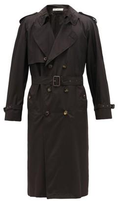 Umit Benan B+ - Water-repellent Silk Trench Coat - Black