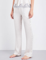 Carine Gilson Straight silk-satin pyjama bottoms