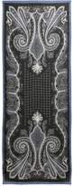 Etro Paisley Linen & Silk Scarf