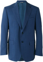 Canali two button blazer - men - Cupro/Virgin Wool - 50